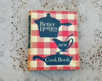 Better Homes and Gardens New Cook Book 1962 Edition Five Ring Binder