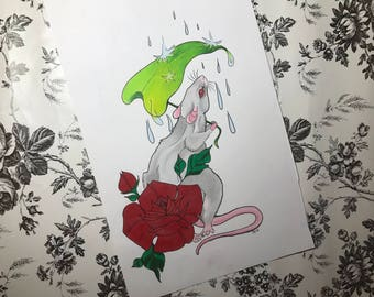 Rainy Day Rat - Original 2016
