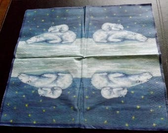 1 polar bear towel