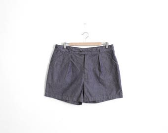 Original 1960s French Marine Service Shorts - W32/33