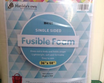 Fusible Foam - Bag Making - Sewing and Quilting