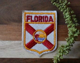 Vintage Florida Travel Patch