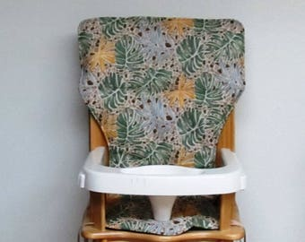 SALE *****jenny lind  eddie bauer high chair pad replacement, baby chair accessory, nursery decor, baby feeding kids chair, earthy mosaic
