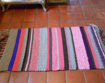 Multicolored Wool Rug
