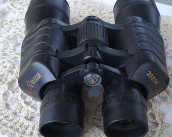 Vintage Russian Binoculars /Zoom Telescope 20x50/ Hunt Binocular/1990s