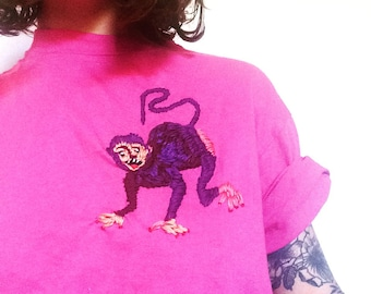 Embroidered Monkey !