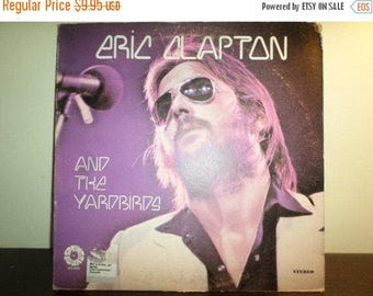 Save 30% Today Vintage 1972 Vinyl LP Record Eric Clapton and The Yardbirds Springboard Records Excellent Condition 9014