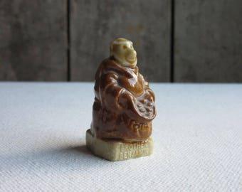 Vintage Wade Brother Benjamin, Friar Series, Monk,1983,KP Foods,Wade Character Figure,Wade Porcelain Figurine,Whimsies,Wade Brother Benjamin