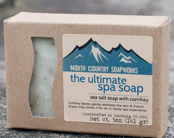 The Ultimate Spa Bar - VEGAN, sea salt soap