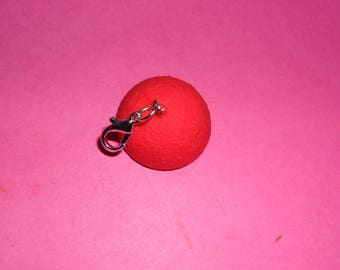 """1 """"Sweet Strawberry"""" polymer clay 20mm Charms"""