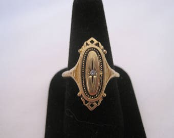 Vintage Avon Gold Tone Ring