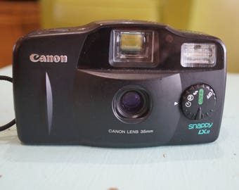 Canon Snappy LX II 35mm Camera