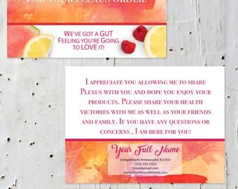 NEW LOOK Plexus Slim Thank You Card Digital Files