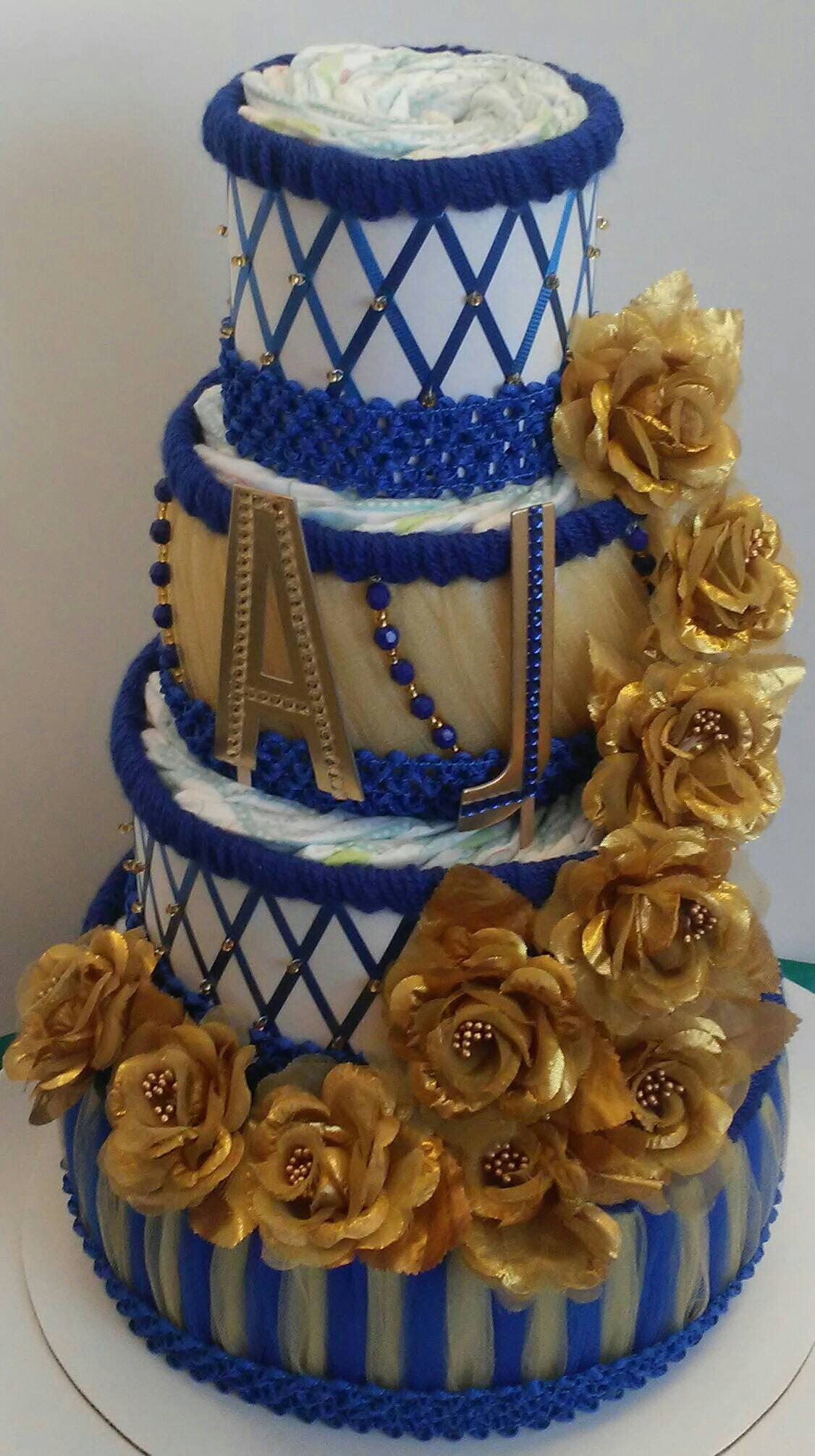 Royal Prince Elegant Themed Baby Shower Decor Royal Blue and