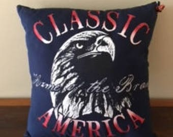 Home of the Brave Pillow