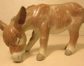 Discontinued Extremely Collectible Donkey Burro by Lladro