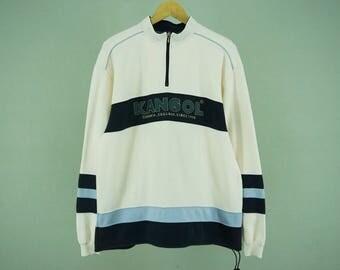 Kangol Sweater Vintage Kangol Pullover Turtleneck Men's Size LL