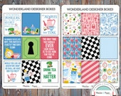 June Designer Boxes Planner Stickers