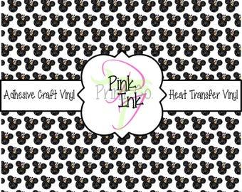 Disney Printed Vinyl, Disney Patterned Craft Vinyl and Heat Transfer Vinyl in pattern Disney 29