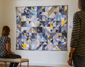 Braque Quilt Pattern by Melinda Lin - Paper Printed Pattern