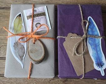Literary gift set lite edition | Cyber Monday | Bookish | Surprise Present | Stocking Filler| Unique| Tea | Handmade | Quote