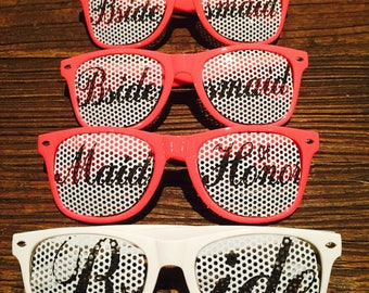 Bride Sunglasses Bridal Party Glasses