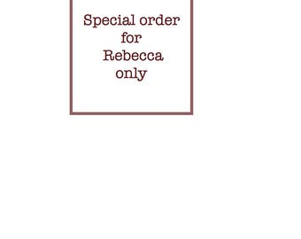 Special order for Rebecca only - 2 small catch plates