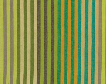 CATERPILLAR STRIPE Woven SPROUT Kaffe Fassett Sold in 1/2 yd increments