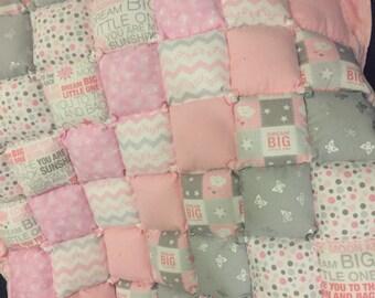 Baby Girl Blanket/Tummy time mat