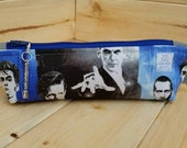 Doctor Who Skinny Notions Pouch dpn Case Bag Handmade