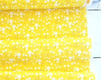 Stay Gold - Marigold(Pollen) - Organic Fabric - Aneela Hoey - Cloud 9