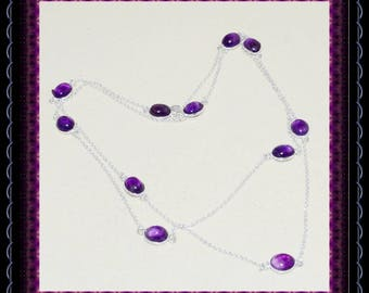 Amethyst Long Necklace