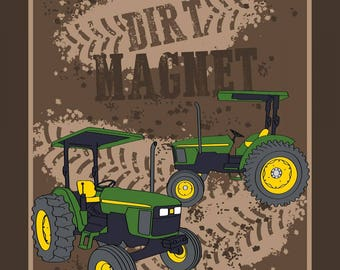 "Dirt Magnet cotton panel -- approximately 35"" x 44"""