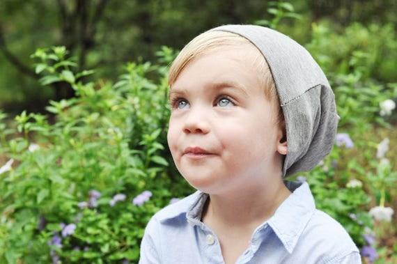 Grey Slouchy Toddler Beanie - Grey Toddler Boy Beanie - Grey Toddler Boy Hat - Grey Toddler Girl Beanie - Grey Toddler Girl Hat - Kids Hat