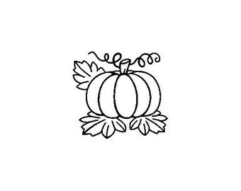 "Small Pumpkin Stamp, card stamp, gift tags stamp, label stamp, stationary stamp, halloween stamp, festive stamp, 0.75"" x 0.7"" (minis80)"