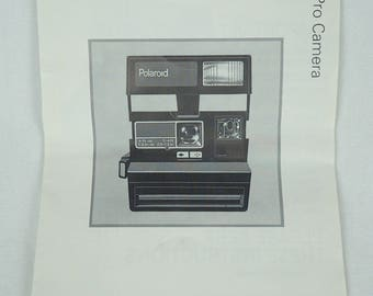 POLAROID JOBPRO MANUAL and tips, 2 booklet set 1980s A065