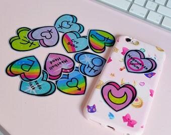 Sailor Moon Heart Sticker Pack