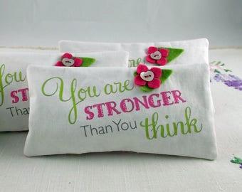 Lavender Sachet - fragrant sachet, lavender bag, lavender sachet, lavender pillow, inspirational quote, gift for friend, gift for mum