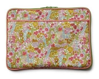 11/13 inch Laptop Case Bag :  LIBERTY Margaret Annie (Pink)