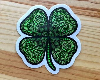 Zentangle - Four Leaf Clover