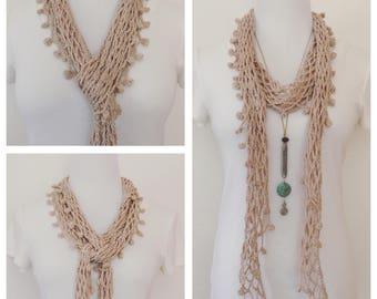 Crochet Pattern:  You've Got a Friend Scarf