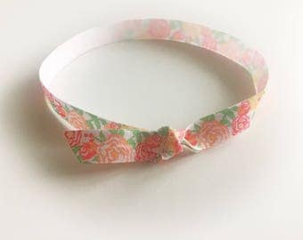 Citrus Floral FOE headband