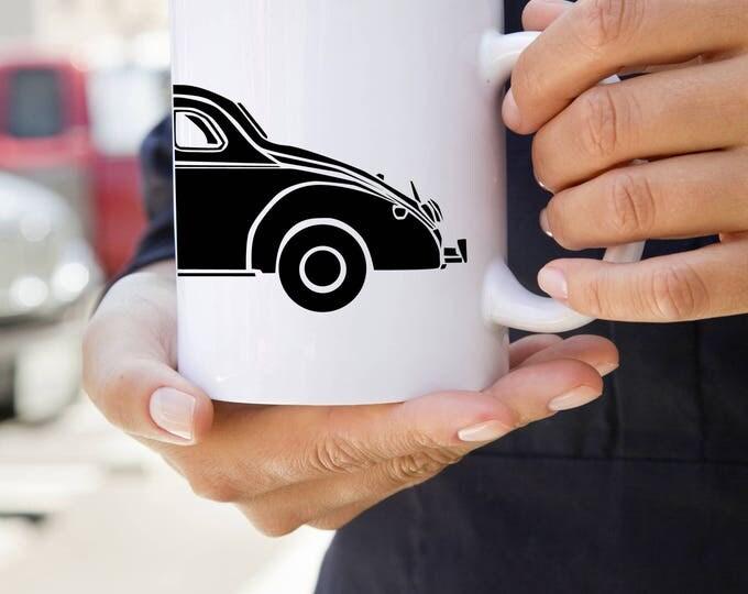 KillerBeeMoto: U.S. Made Vintage Bootlegger Moonshiner Coupe Coffee Mug
