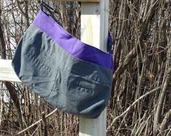 Upcycled Pants Purse