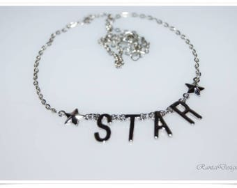 Statement necklace be a STAR set necklace star be a gift for her