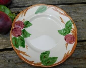 Set of 6 Vintage Franciscan Apple Salad Plates