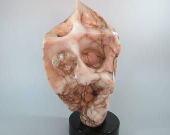 Alabaster Sculpture Natural Stone Sculpture Original One-of-a-kind Art