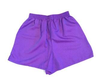 Vintage Purple Shorts