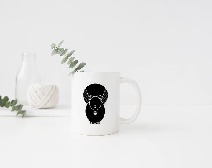 Plastic Squirrel Mug