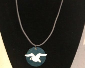Beside the Sea  - Seagull Necklace